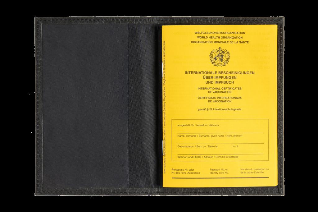 Schutzhülle für Impfbuch - Papier