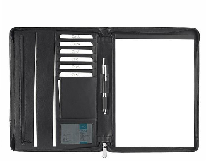 Schreibmappe A4 mit Reißverschluss
