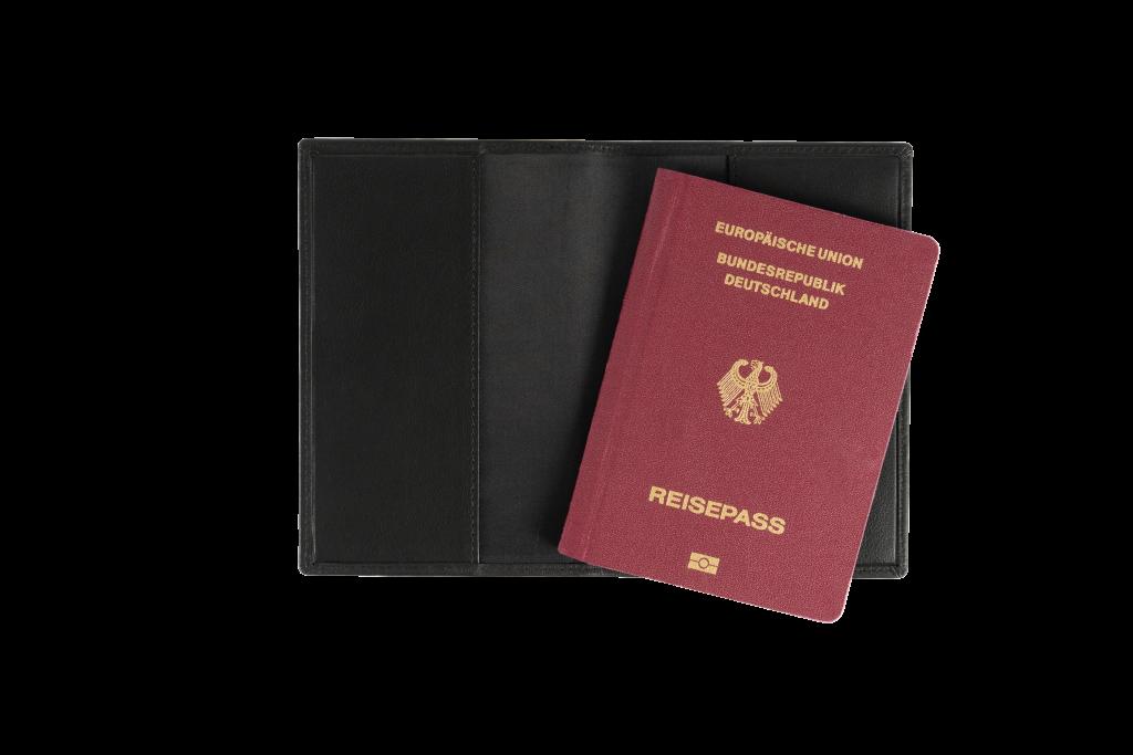 Reisepasshülle mit RFID Schutz